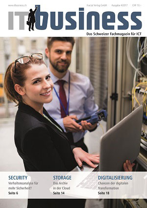 IT business Ausgabe 4/2017