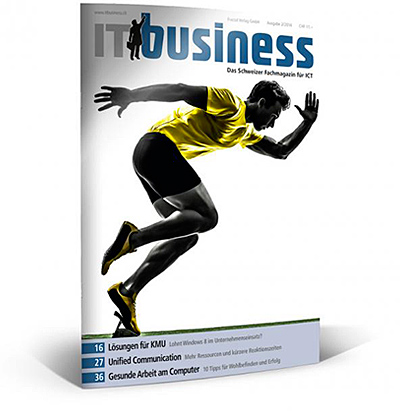 zeitschrift it business februar 2014