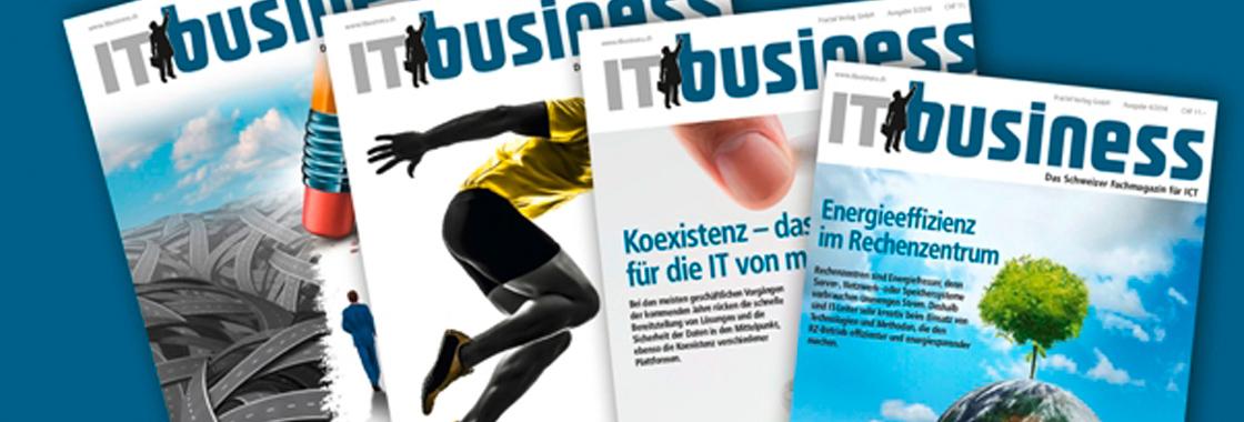 IT business - Die aktuellste Ausgabe jetzt erhältlich